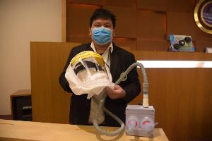 ส่งมอบระบบพัดลมสำหรับชุดปลอดเชื้อให้บุคลากรแพทย์ 10,500 ชุด