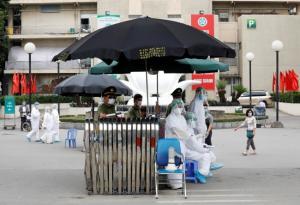 โล่งอก..ผลตรวจชาวเวียดนามกว่า 15,000 คนในจุดโควิดระบาด ไร้ผู้ติดเชื้อ