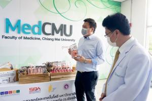 ส่ง 2 นวัตกรรมกินได้ให้บุคลากรการแพทย์สู้โควิด – 19