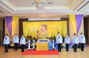 คณะแพทยศาสตร์วชิรพยาบาลรับพระราชทานเครื่องมือแพทย์