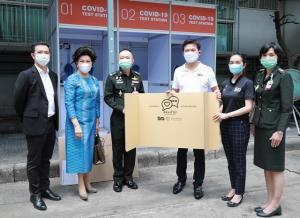 สจล. ส่งมอบตู้ตรวจโควิด-19 แก่ 4 รพ. ในกรุงเทพฯ