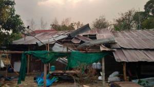 พายุลูกเห็บถล่ม! เชียงราย-ภูซาง อ่วมหนัก บ้านพัง 2 จว.10 อำเภอหลายร้อยหลังคา