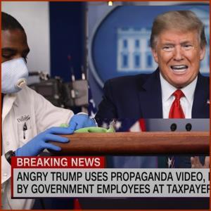 "In Clip: ทรัมป์ชนนักข่าว CNN อ้าง ""มีอำนาจเต็มที่"" สั่งปลดล็อกดาวน์ไวรัสได้ ติดเชื้อรวมทั่วโลกกว่า 5 เดือนเกือบ 2 ล้าน"