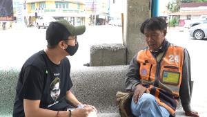 วิน จยย.รับจ้างพ้อ รับลูกค้าได้แค่ค่าข้าว ไม่กลัวไวรัสแล้วแต่กลัวอดตายมากกว่า