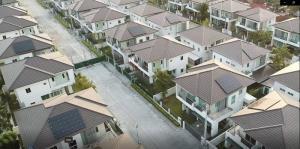 บ้านเดี่ยว ในโครงการจัดสรร บริษัทเสนา ดีเวลลอปเม้นท์ จำกัด (มหาชน)