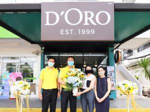 ซัสโก้ยินดีฉลองเปิด D'Oro (ดิโอโร่) สาขาบางปะกอก