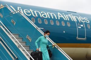 สายการบินเวียดนามพร้อมขึ้นบิน หลังรัฐบาลคลายล็อกดาวน์บางส่วน