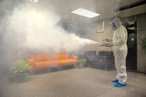 ระบบ Fogging  ปล่อยควันฆ่าเชื้อด้วยน้ำยาออแกนิค รายแรกในประเทศไทย