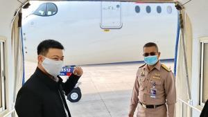 กองการบินทหารเรือ เตรียมพร้อมรับ 160 นักศึกษาไทยจากอเมริกาเข้ากักตัวในระยอง-ชลบุรี