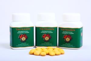 """ผลิตภัณฑ์เสริมอาหารต้านอนุมูลอิสระชนิดเม็ดจากขมิ้นชัน หรือ """"TISTRAMIN"""""""