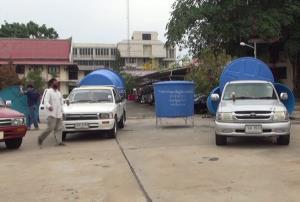 บุรีรัมย์ประกาศภัยพิบัติแล้ง 10 อำเภอ เร่งแจกถังน้ำใหญ่ตั้งกลางหมู่บ้านรับมือวิกฤตน้ำประปาแห้ง