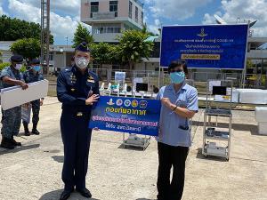 ทหารอากาศขนเครื่องมือแพทย์ขึ้นซี130 มอบให้โรงพยาบาลใน 3 จังหวัดชายแดนใต้