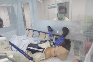 ห้องแยกป้องกันเชื้อความดันลบแบบเคลื่อนที่ (Negative Pressure Isolation Room) เหมาะสำหรับใช้ในห้องฉุกเฉิน ห้องไอซียู