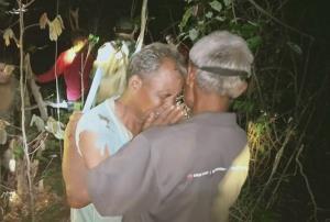 พบแล้ว 2 ชาวบ้านศรีสะเกษหาแมงอีนูนหลงป่าพนมดงรักนาน 3 วัน หลังนำ ฮ.บินระดมค้นหา
