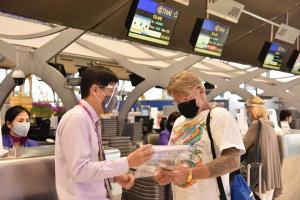 TG รับ 207 คนไทยจากออสเตรเลียถึงสุวรรณภูมิเรียบร้อย