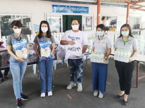 เอ็ม บี เค และข้าวมาบุญครองร่วมสนับสนุนโครงการวันสร้างสุข ช่วยเหลือพี่น้องในเขต กทม.ผ่านพ้นสถานการณ์ไวรัสโควิด-19