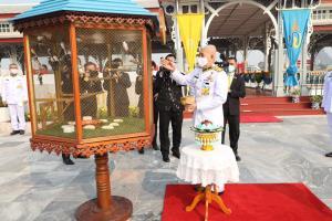 """""""ในหลวง"""" โปรดเกล้าฯ ให้ผู้แทนพระองค์บำเพ็ญพระราชกุศล เนื่องในวันคล้ายวันประสูติเจ้าฟ้าทีปังกรฯ"""