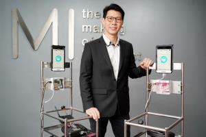 ซัมซุงหนุนวิศวกรรม จุฬาฯ ปั้นหุ่นยนต์ CU-RoboCovid ช่วยบุคลากรการแพทย์สู้โควิด-19