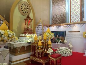 วธ.อัญเชิญพระบรมสารีริกธาตุ ประดิษฐานน้อมรำลึกวันวิสาขบูชา