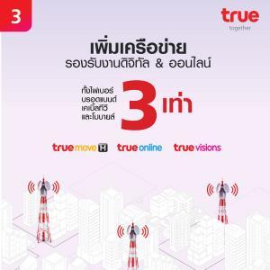 กลุ่มทรู กับ 10 ภารกิจเร่งด่วนร่วมดูแลคนไทย พร้อมเคียงคู่สู้วิกฤตโควิด-19