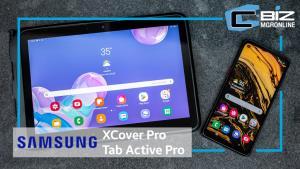 Review : Samsung Galaxy XCover Pro / Galaxy Tab Active Pro คู่หูดีไวซ์จับกลุ่มองค์กร