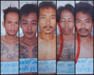 """""""บิ๊กแป๊ะ"""" จี้ล่าตัว 5 นักโทษยาเสพติดเจาะฝ้าเพดานห้องกักขังโควิด เรือนจำสว่างแดนดิน หลบหนี"""