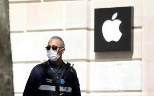 Apple หงอย ยอดขายโต 1%