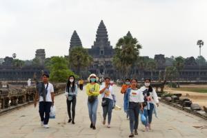 กัมพูชาเปิดตัวเลข 4 เดือน นักท่องเที่ยวเยือนนครวัดลดฮวบ 60%