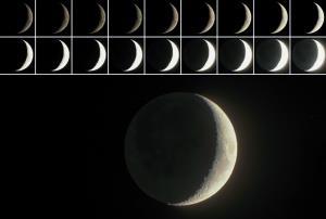 ถ่ายภาพดวงจันทร์แบบ Moon HDR