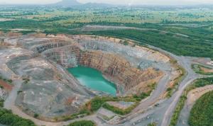 แฟ้มภาพ - เหมืองทองคำของบริษัท อัครา รีซอร์สเซส