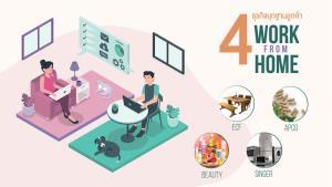 เจาะ 4 ธุรกิจบุก Work From Home รับอานิสงส์ขยายตลาดช่วง COVID–19