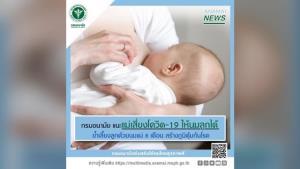 สบายใจได้! กรมอนามัย เผย แม่หลังคลอดเข้าข่ายหรือติดเชื้อโควิด-19 สามารถให้นมลูกได้ปกติ