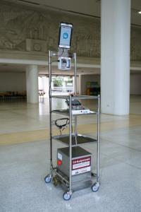 """กลุ่มอีซูซุสนับสนุน 5 ล้านบาท โครงการ """"CU-RoboCOVID"""" มอบหุ่นยนต์และอุปกรณ์สนับสนุนการแพทย์"""