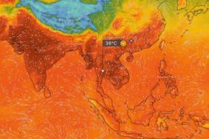 ร้อนระอุทั่วไทย! คลื่นความร้อนปกคลุม อุณหภูมิสูง 40-43 องศา 10-13 พ.ค. รับมือพายุฤดูร้อนถล่ม