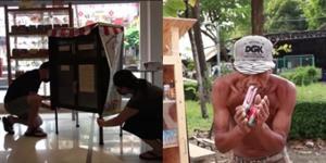 """น้ำใจคนไทย! ไอเดีย """"ตู้ปันสุข"""" โครงการดีๆ แบ่งปันอาหารสู่เพื่อนมนุษย์ ในยุคโควิด-19 ระบาด"""