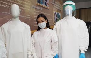สำเร็จแล้ว!! ชุด PPE ใช้ซ้ำ เผยเส้นใยรีไซเคิลจากขวดน้ำ นำเข้าจากไต้หวัน แต่ไทยทอเอง สหรัฐฯ ยังสนใจสั่งซื้อ