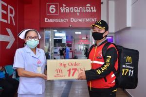 แมคไทยส่งกำลังใจให้ฮีโร่กว่า 35 องค์กรต้านโควิด-19