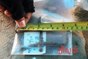 เขมรขุดพบรูปสลักเต่ายักษ์โบราณ คาดสร้างสมัยศตวรรษที่ 10