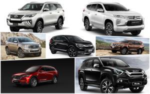 เทียบให้ชัด PPV-SUV 7 ที่นั่ง 4wd คันไหนเด็ด-คันไหนดับ