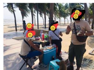 """""""นายกตุ้ย"""" ขอความร่วมมือนักท่องเที่ยว งดรวมกลุ่มสังสรรค์ ถนนเลียบชายหาด"""