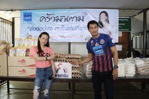"""คนไทยไม่ทิ้งกัน! """"ครัวมาดาม"""" ผนึกพันธมิตร ศิลปิน แข้งชาย-หญิง แจกข้าวกล่องชาวกรุงต่อเนื่อง"""