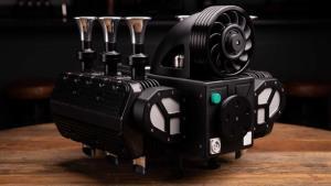 เครื่องชงกาแฟ Espresso แรงบันดาลใจจากเครื่องยนต์ ปอร์เช่ 911