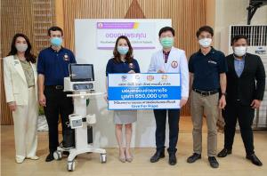 เป๊ปซี่โคมอบเครื่องช่วยหายใจ มูลค่า 650,000 บาท ให้โรงพยาบาลธรรมศาสตร์เฉลิมพระเกียรติ