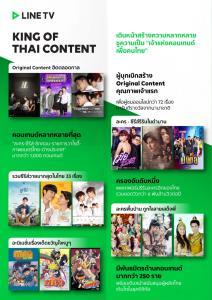 LINE TV สู่ King of Thai Content ตลาด OTT TV ไทย ยอดคนดูช่วงล็อกดาวน์พุ่ง 45%