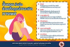 """""""กรมอนามัย"""" เผย 6 วิธีรับมือช่วยเด็กถูกล่วงละเมิดทางเพศ"""