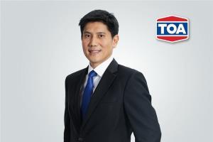 TOA โชว์ยอดขาย Q1 กว่า 4,100 ลบ. ไม่หวั่นวิกฤตโควิด-19 เดินหน้าเติบโตคู่คนไทย