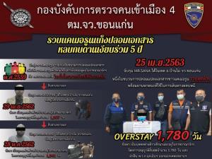 รวบหนุ่มแคเมอรูน แก๊งปลอมเอกสาร ซุกไทยนาน 5 ปี