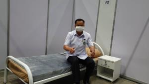 """""""อนุทิน"""" นำตรวจความพร้อมทางการแพทย์และจัดตั้งโรงพยาบาลสนามเชียงใหม่รองรับกรณีโควิด-19 ระยะ 3"""
