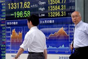 ตลาดหุ้นเอเชียปรับบวก นักลงทุนจับตาข้อมูลเศรษฐกิจจีน