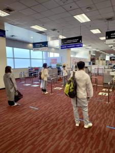 """""""สนามบินเชียงใหม่"""" ยกระดับมาตรการคุมเข้มป้องกันไวรัสโควิด-19"""